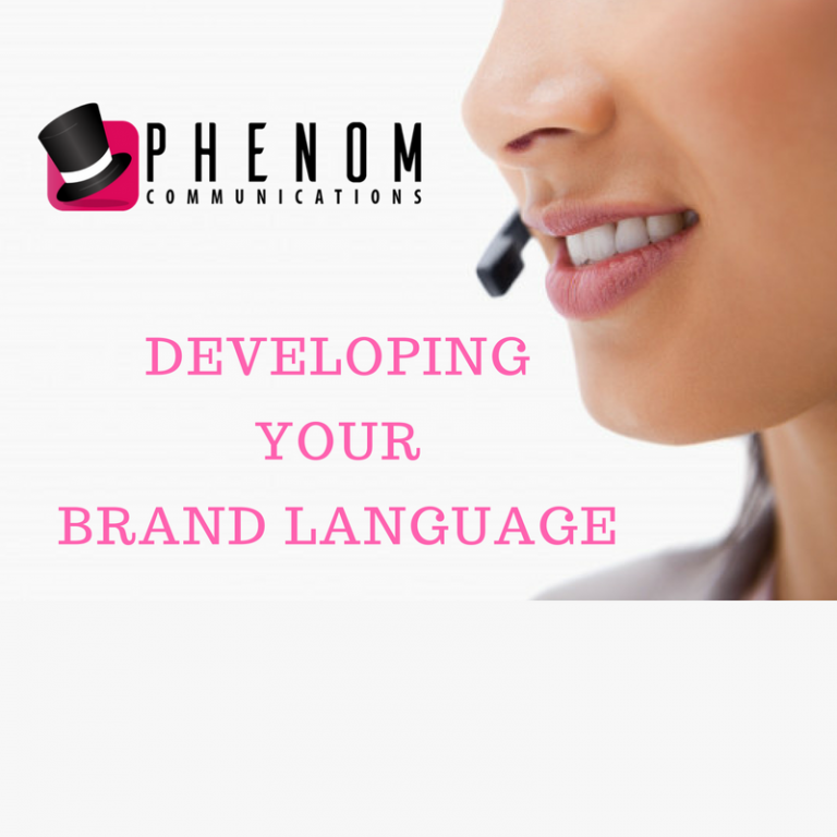 Developing Your Brand Language