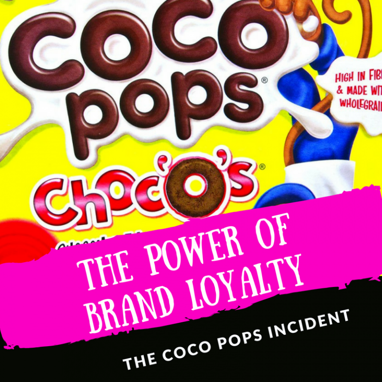 THE POWER OF BRAND LOYALTY:THE COCO POPS INCIDENT