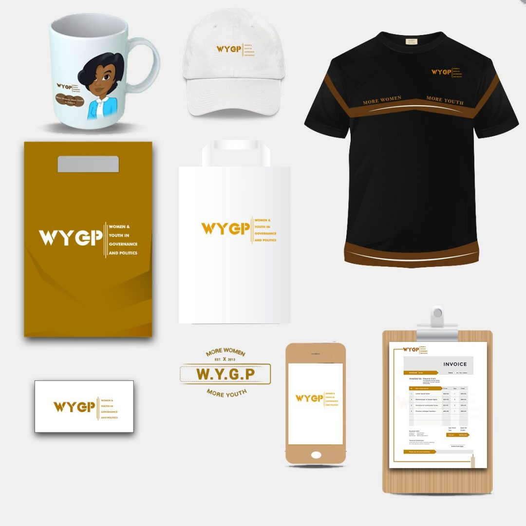 WYGP Group Identity White and Black
